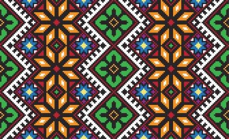 Ukrainian ethnic seamless ornament, #56, vector Stock Photo