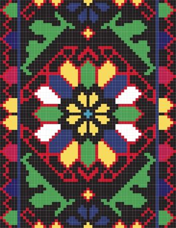Ukrainian ethnic seamless ornament, #66, vector Illustration