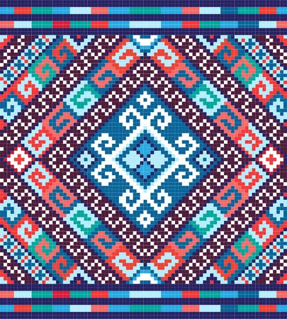 Ukrainian ethnic seamless ornament
