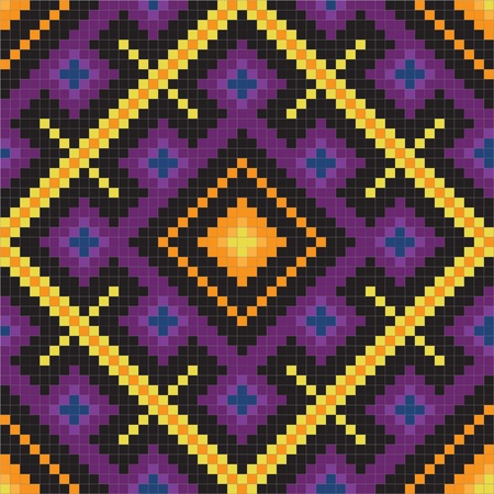 serviette: Ethnic slavic seamless pattern#11