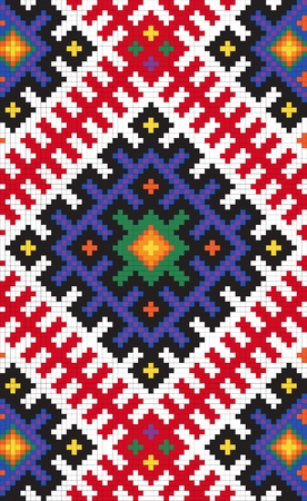 embroider: Ethnic slavic seamless pattern#12