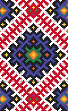 slavic: Etnico slavo modello seamless # 12 Vettoriali