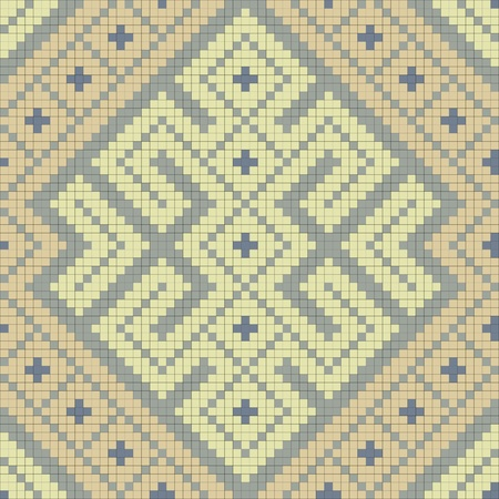 lappet: Ethnic slavic seamless pattern#13 Stock Photo