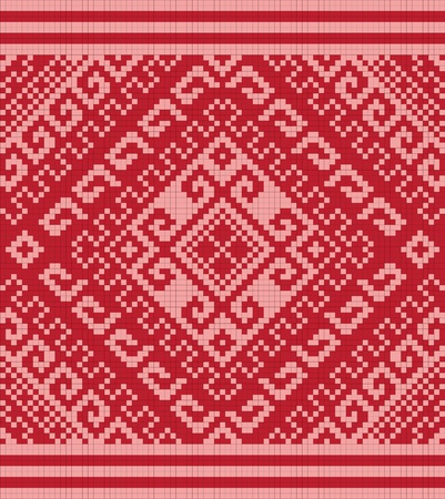 Ukrainian ethnic seamless ornament, #80, vector photo