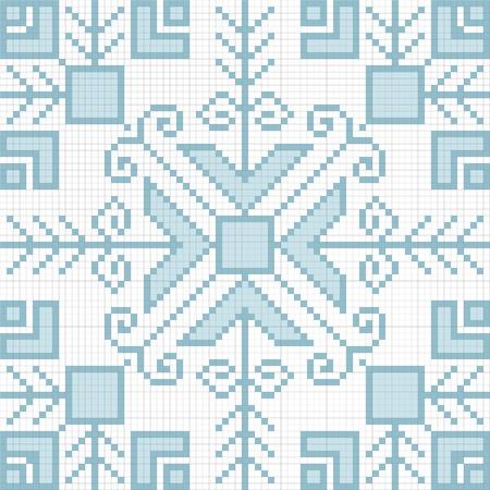 Ukrainian ethnic seamless ornament, #81, vector