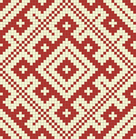 slavic: Ethnic modello slavo seamless # 14