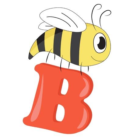Alphabet for kids, letter B Stock Vector - 13719439