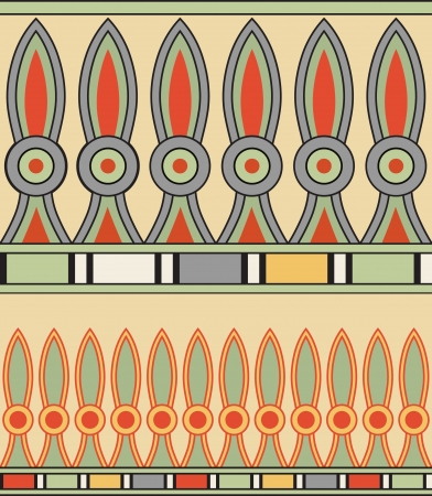 Colorful ancient egyptian ornament Stock Vector - 13719486
