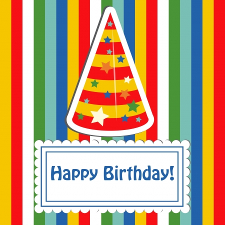 happieness: Happy birthday cute greeting card