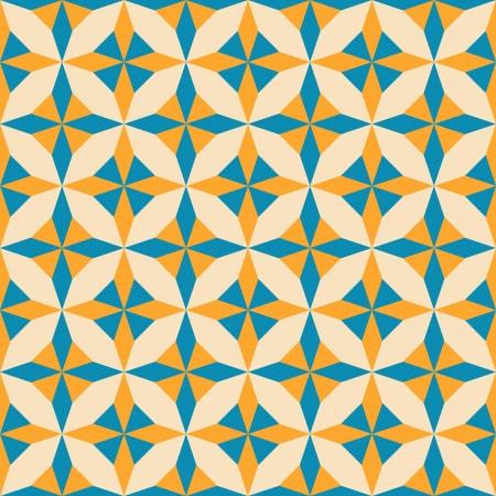 Abstract geometric seamless pattern, vector illustration  イラスト・ベクター素材