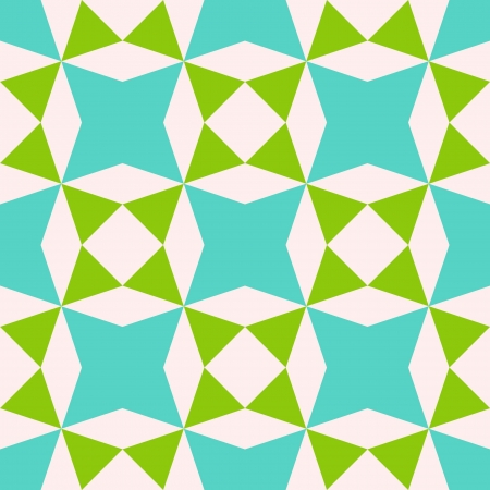 Abstract geometric seamless pattern, vector illustration Vettoriali