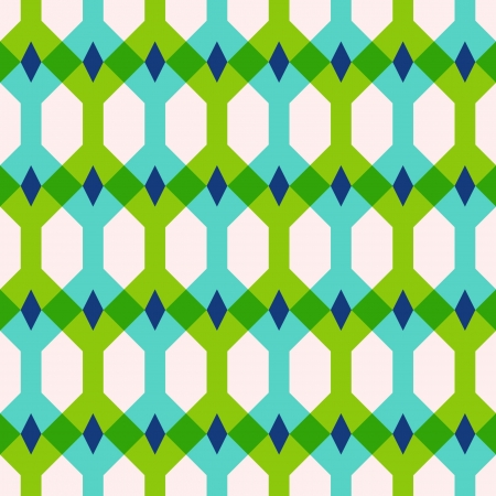 Abstract geometric seamless pattern, vector illustration Vector