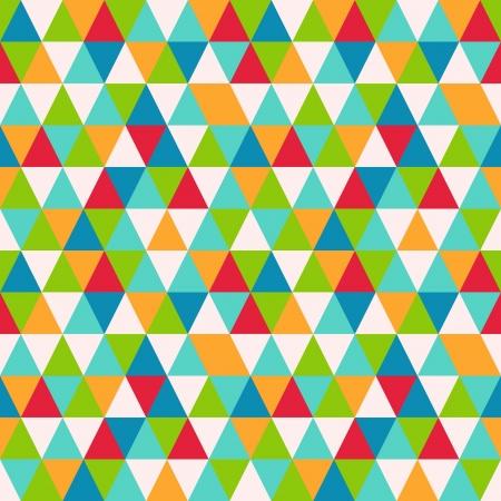 Abstract geometric seamless pattern, vector illustration Vector