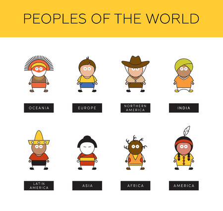 Different People Of The World