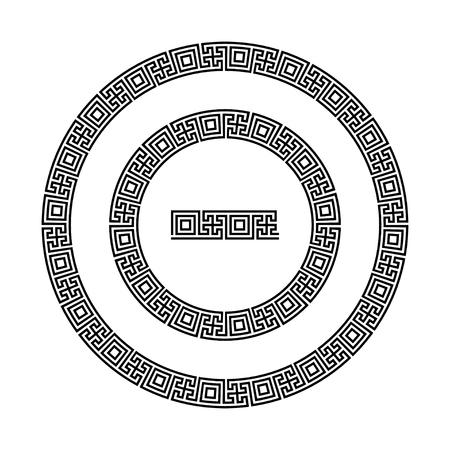 meander: Circle ornament meander.