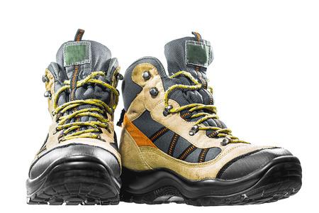 footwear: Trekking shoes, isolate, footwear, hiking, walking, gear, hike