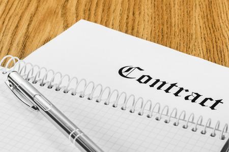 business case: contract stukken voor zakelijk pen bril business case