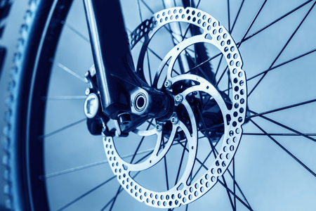 bicycle wheel: bicycle parts brake disc front wheel front shock absorber