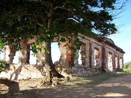 Ruins on Ramey Base USAF Aguadilla Puerto Rico Stock Photo - 1355163