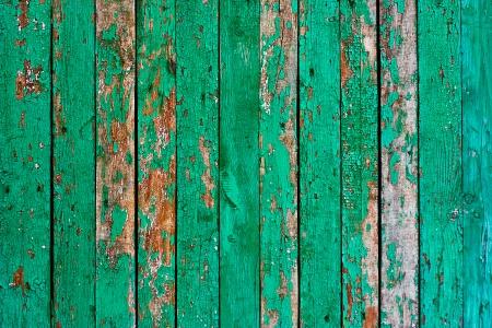 tacky: Green tacky grunge texture of Wood boards