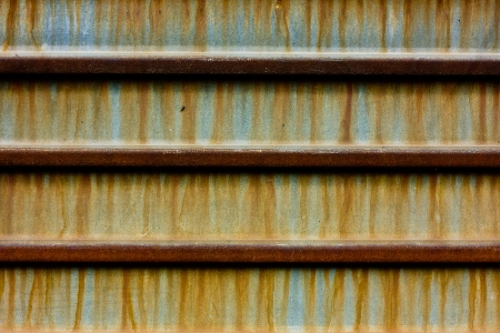 crannied: Grunge metal rusty texture with stripes