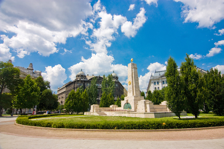 Monument for Soviet liberation of Hungary in World War II from Nazi German occupation in Budapest