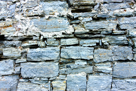Old stone wall texture. Background Imagens