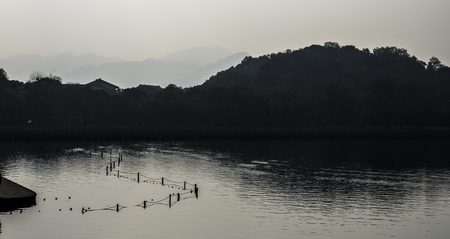 West Lake in the evening