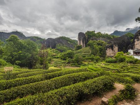 Matouyan landschap uitzicht op het landschap
