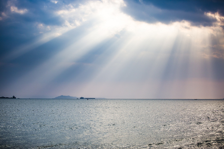 atmosphere: South China Sea scenery Stock Photo