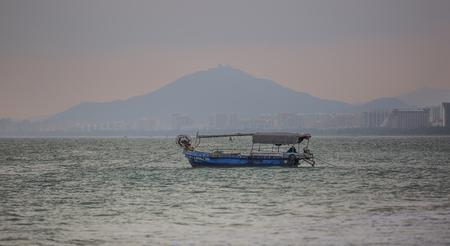 boat at seaside