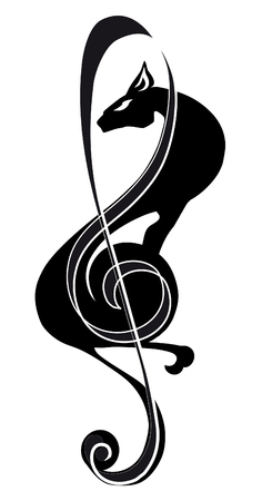 panther: treble clef