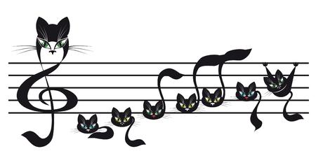 señala gatitos