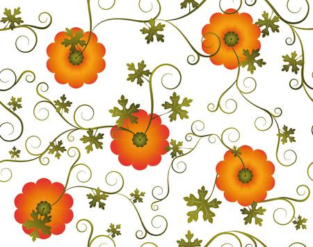background, pumpkin, seamless. Çizim