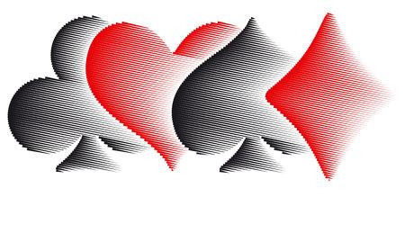 Juego de cartas, casino icon illustration. Foto de archivo - 91002906