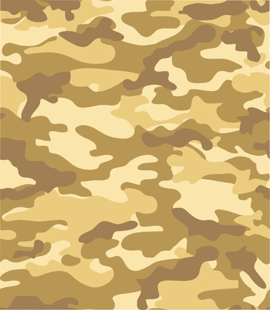 seamless camouflage background for design and prints Çizim