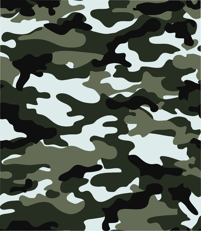seamless camouflage background for design and prints