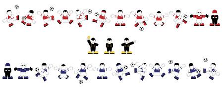 team rivals, football players.