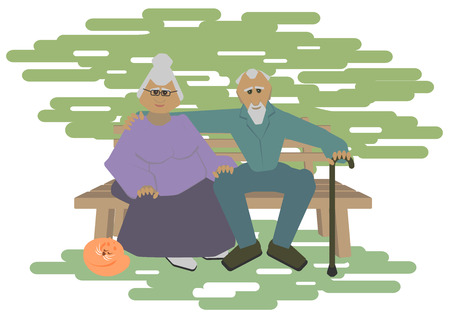 grandparents, pensioners, old age
