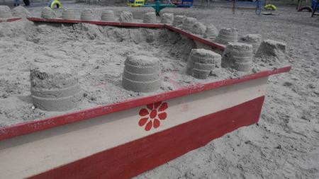 sandpit: childrens sandpit