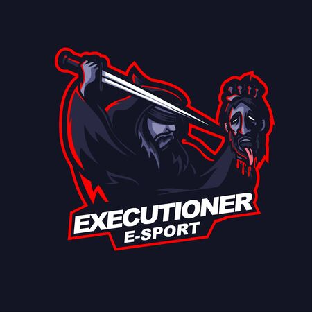 executioner beheading  for e-sport gaming mascot