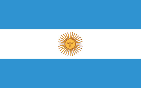 Flag of Argentina Çizim
