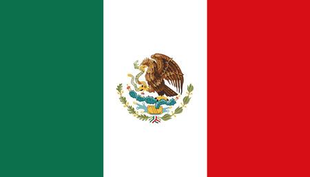 Bandera de Mexico Foto de archivo - 47963153