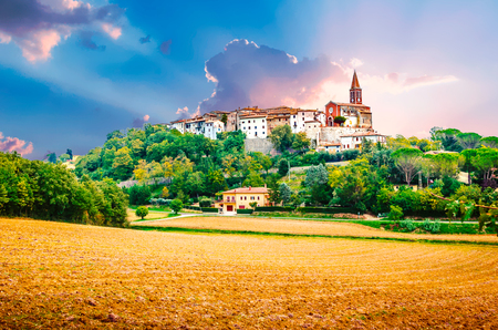 View of Montecastrilli, Italy