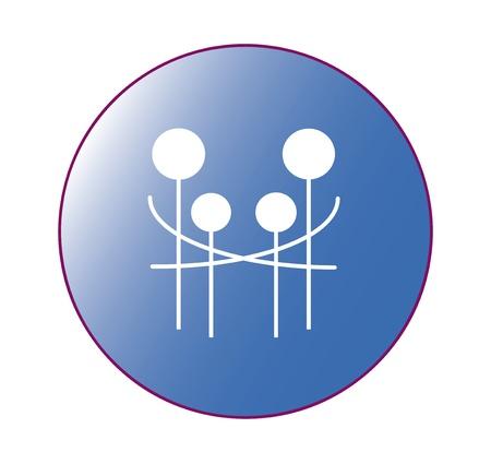 logo home: Happy family