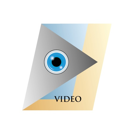 Watch Video  Stock Vector - 20096208