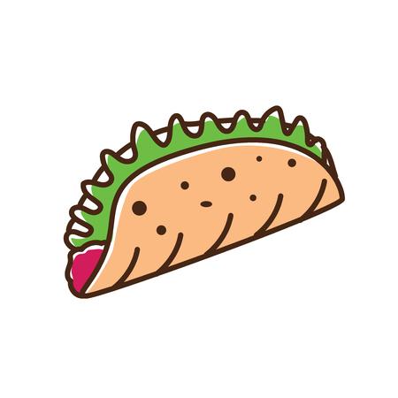 Tortillas illustration