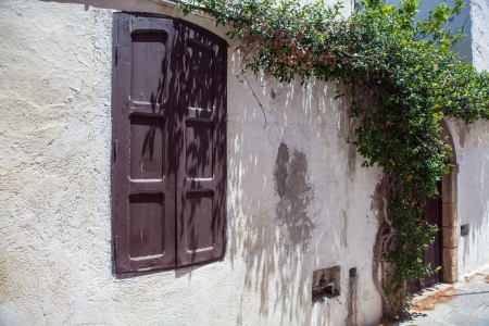 lindos: Lindos streets Stock Photo