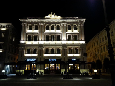 eighteenth: The ancient Hotel Vanoli of Trieste built in the eighteenth century, today is an important hotel known as Duchi
