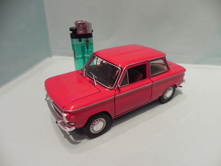 My miniature of an old NSU Prinz, mythical car produced in Germany since 1957 photo